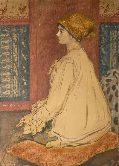 Georges Lemmen, 'Portrait de Madame Dumont Wilden', 1909