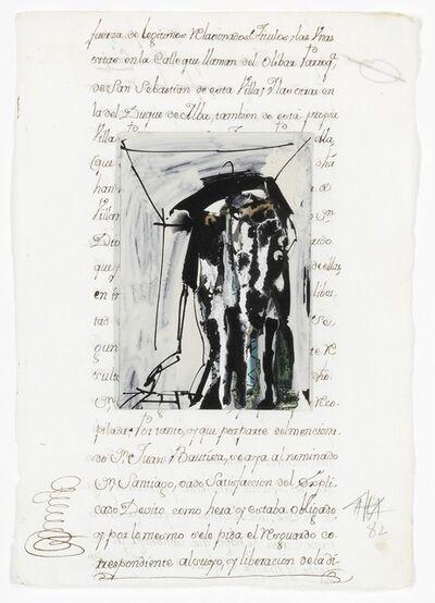 "Antonio Saura, '""Superimposition""'"