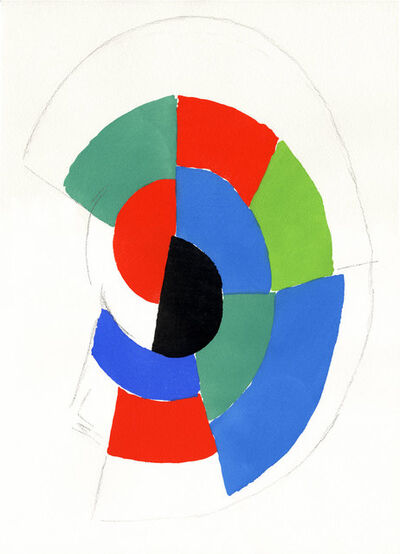 Sonia Delaunay, 'Matinée d'Ivresse I', 1973