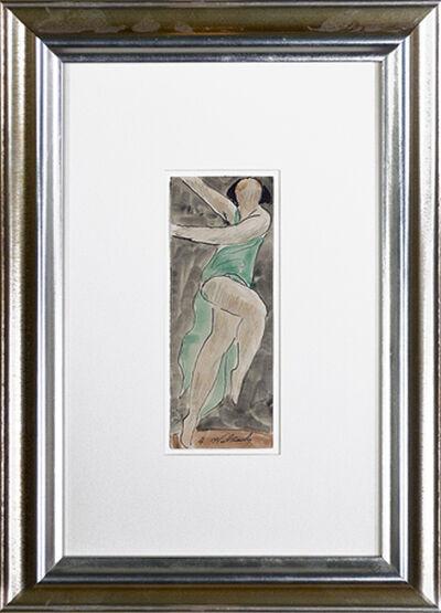 Abraham Walkowitz, 'Isadora Duncan Dancing #3', ca. 1920