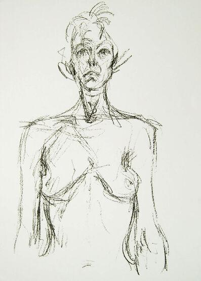 Alberto Giacometti, 'Bust of A Nude', 1961