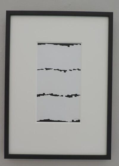 Vera Molnar, '4 Lignes ', 1985