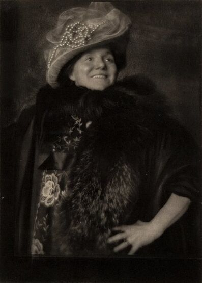 Edward Steichen, 'Vitality - Yvette Guilbert, Camera Work 34-35', 1911