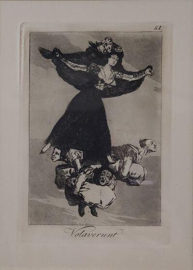 Francisco de Goya, 'Plate 61. Volaverunt ', 1797-1798