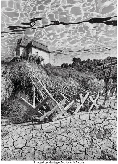 Jerry Uelsmann, 'Untitled (House and trees)', 1978