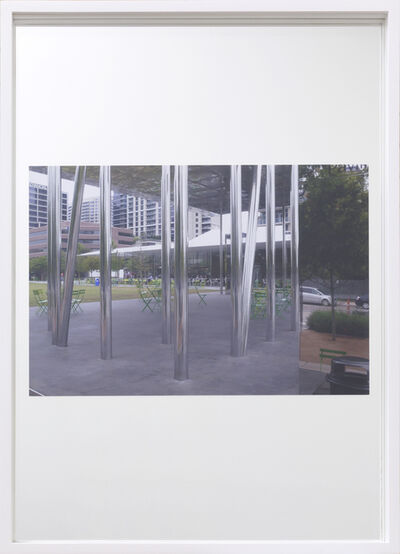 Andreas Fogarasi, 'Mirrors, Muse Family Pavilion, Klyde Warren Park, Dallas (Thomas Phifer, 2012)', 2013