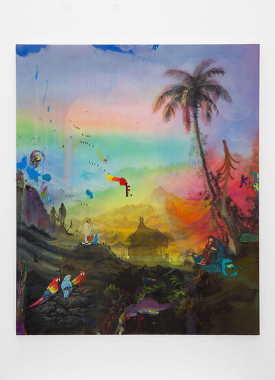 Friedrich Kunath, 'So Much Joy In Merely Looking', 2019