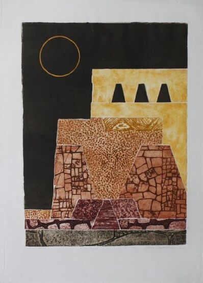 MARTHA SLAYMAKER, 'Moon Temple', Unknown