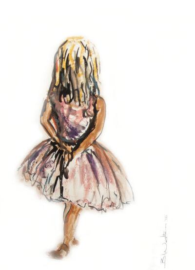 Bonnie Walters, 'Ballerina in pink Ballet Dress '