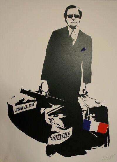 Blek le Rat, 'The Man Who Walks Through Walls [AP]', 2007