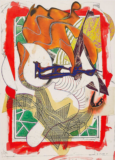 Frank Stella, 'HARK! FROM WAVES II', 1988