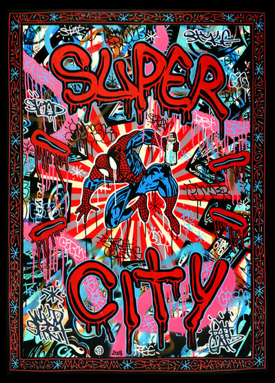 Speedy Graphito, 'Super City', 2018