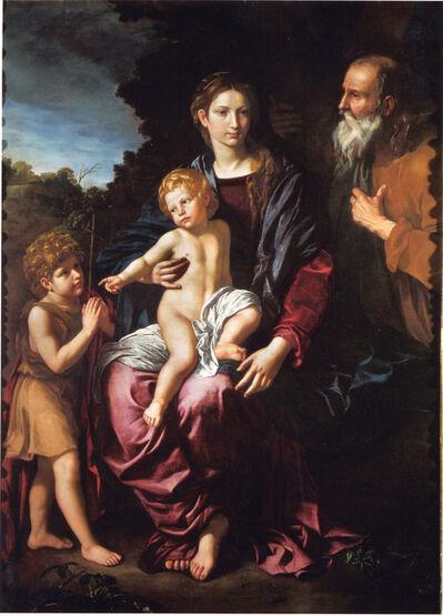 Bartolomeo Cavarozzi, 'Holy Family with the Young Saint John', ca. 1620