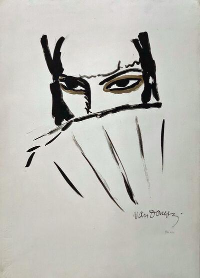Kees van Dongen, 'Woman with a Fan', 1927