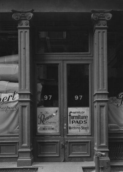 Bevan Davies, '97 Wooster Street, New York', 1975
