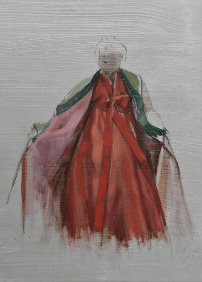 Helena Parada-Kim, 'Vermilion Study', 2021