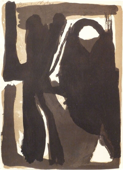 Bram van Velde, ' L'unique planche 3', 1973