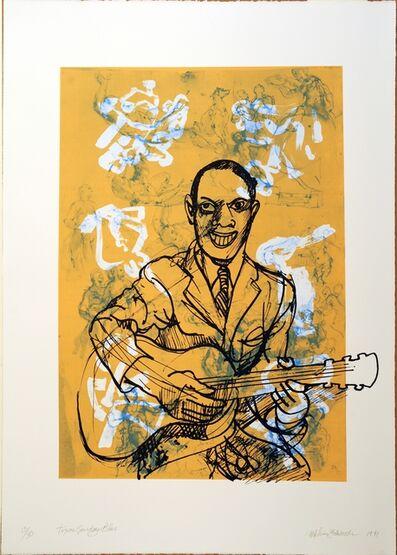 Melvin Edwards, 'Texas Sunday Blue', 1991