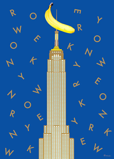 Razzia, 'New York And King Kong', Image created in 1984