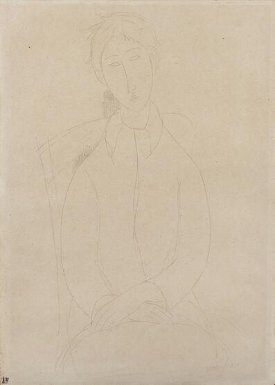 Amedeo Modigliani, 'Figura femminile seduta', 1918