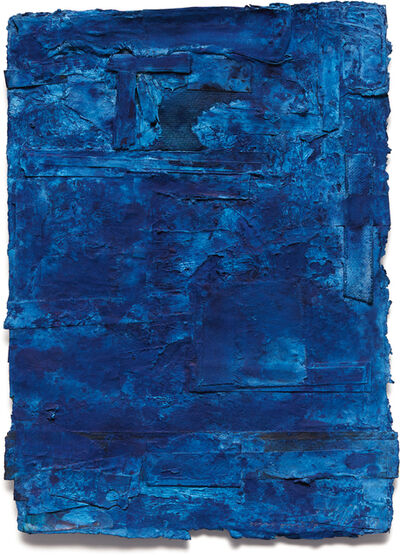 Shinro Ohtake, 'Blue Map 2', 1997-1999