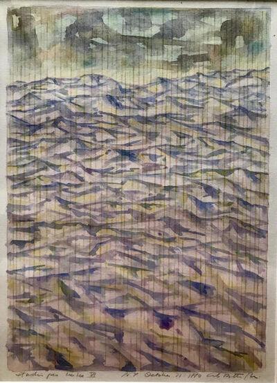 Carlo Battaglia, 'Studio per Imbre VI', 1980