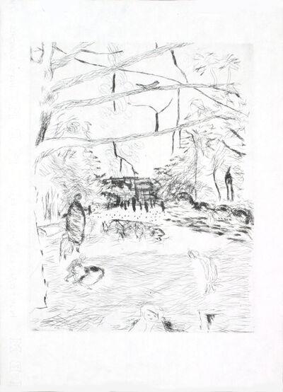 Pierre Bonnard, 'Au Jardin D'enfants', 1937