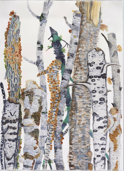 Katie DeGroot, 'Big Time (the birches)', 2020