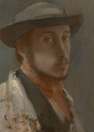 Edgar Degas, 'Self-Portrait', 1857-1858