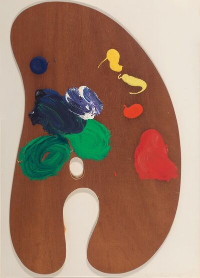 Jim Dine, 'Palette IV, from Four Palettes', 1969