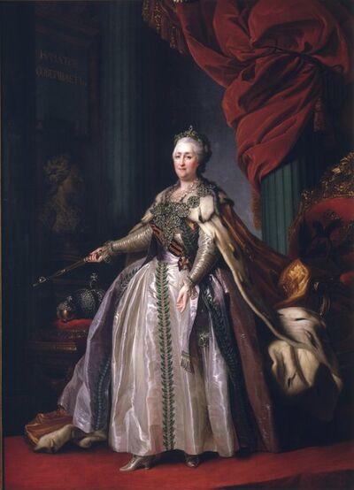Dimitrii Grigorievich Levitskii, 'Portrait of Catherine II', ca. 1788