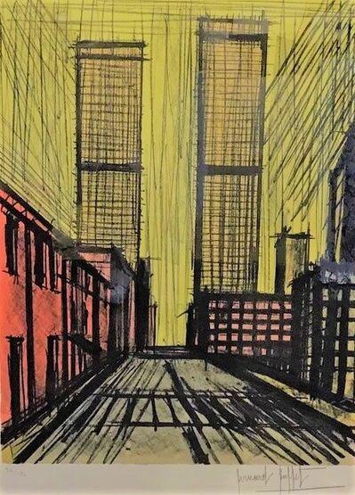 Bernard Buffet, 'New York: Twin Towers', unknown