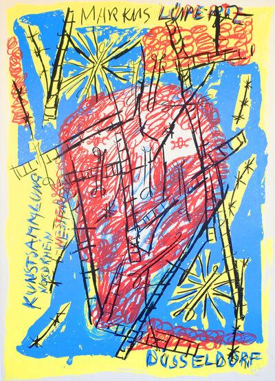 Markus Lüpertz, 'Poster Kunstsammlung Nordrhein-Westfalen', 1996