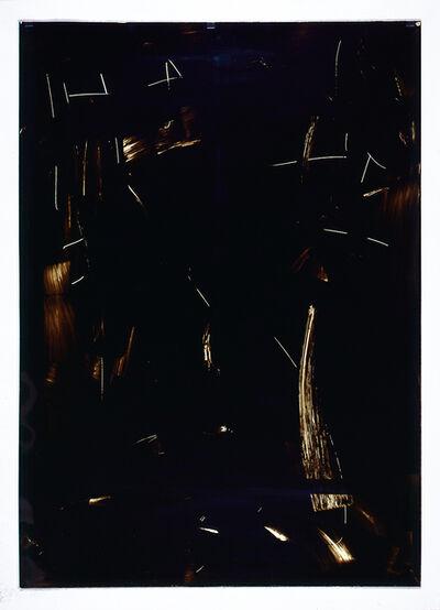 Imi Knoebel, 'Ohne Titel -  Folienzeichnung Nr. 113', 1990