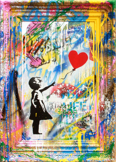Mr. Brainwash, 'Balloon Girl', 2019