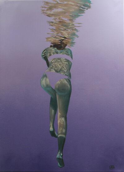 Amanda Arrou-tea, 'Sea of your imagination. Purple', 2019
