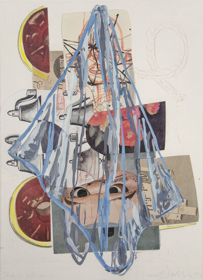 David Salle, 'Steady for Lifesaver', 1993