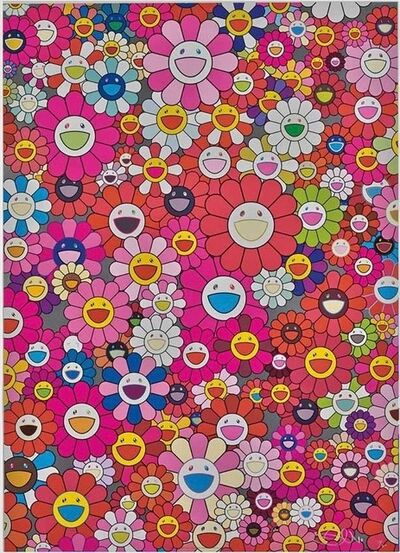 Takashi Murakami, 'AN HOMAGE TO MONOPINK, 1960 A', 2012