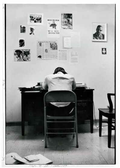 Gordon Parks, 'Stokely Carmichael in SNCC Office', 1967