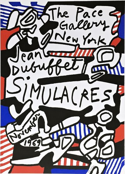 Jean Dubuffet, 'Simulacres (Hand Signed)', 1969-1981