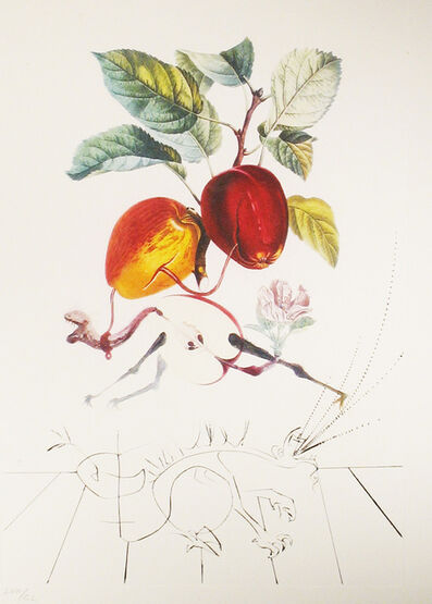 Salvador Dalí, 'Apple-Eve's Apple', 1969
