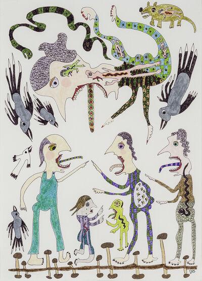 Jeanne Brousseau, 'The Gossips ', about 2018-19