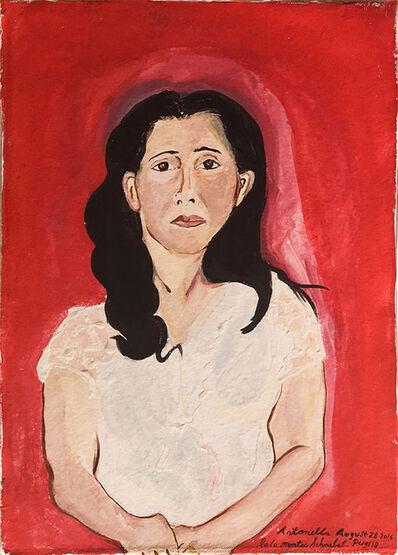 Lola Montes Schnabel, 'Antonella', 2016