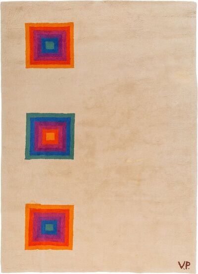 Verner Panton, 'Concentric Squares Tapestry', circa 1970