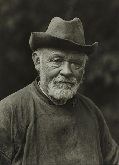 August Sander, 'I/ST/4 The Sage', 1913