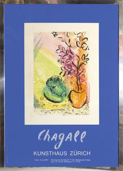 Marc Chagall, 'Chagall at Kunsthaus Zurich', 1967