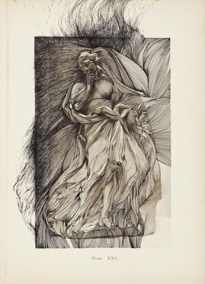 Ann-Marie James, 'Bernini and Other Studies, Book II, Plate XXV', 2012