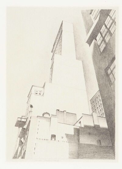 Charles Sheeler, 'The Delmonico Building', 1926