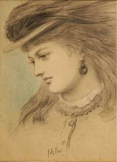 Paul César Helleu, 'Portrait of a Young Woman', ca. 1900