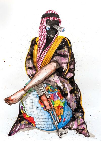 Steve Bandoma, 'Djihadiste', 2018